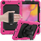 For Samsung Galaxy Tab A 8.0 T290 T295 Tablet Strap Stand Screen Protector Case
