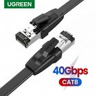 UGREEN Cat 8 Ethernet Cable 40Gbps Network RJ45 Patch Cord High Speed Fr PS4,PS3