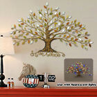 Tree Of Life W/ Lights Wall Hanging Leaves Sculptures Art Home Decor Xmas Gift