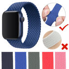 IWatch Braided Solo Loop Strap For Apple Watch 6 5 4 band 44mm 40mm Nylon