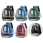 Bird Carrier Cage Mesh Bag Pet Parrot Travel Breathable Backpack Colourful