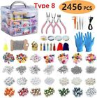 Jewelry Making Kit Mixed Letter Beads DIY Earring Necklace Making Supplies Set