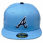 New Era Men's MLB Atlanta Braves Migos Offset 59Fifty Fitted Hat Blue 1995 Wo