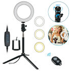 6'' /10''/ 8'' LED Selfie Ring Fill Light Dimmable for YouTube Live Makeup Video
