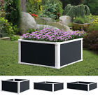 Garden Raised Bed Planter Grow Containers Flower Vegetable Pot PP