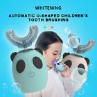 Children Kids Automatic Electric Toothbrush 360  U-shaped Brush Teeth Cleaner