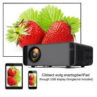 HD 15000LM 1080P LCD LED Mini Projector For Home Theater 1920x1080 USB SD