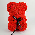 Rose Bear Valentines Day Birthday Gifts Artificial Flower Teddy San Valentin 9""