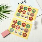 1-24 Number Stickers Christmas Sealing Adhesive Label Stickers Us Xmas X0e4