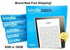 "Kindle Oasis (8GB or 32GB) E-reader Tablet 7"" 9th Gen Waterproof Graphite NEW"