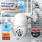 HD 1080P WIFI IP Network Camera Wireless Outdoor PTZ CCTV Security Speed Dome