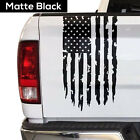 Distressed American Flag Truck Tailgate Vinyl Decal USA Sticker fits most Trucks