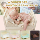 Wooden Newborn Baby Wooden Seat Photography Photo Prop Infant Posing Shoot Aid