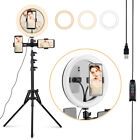 """18"""" LED Ring Light Kit w/ Stand Dimmable 6000K For Makeup Phone Camera Youtube"""