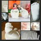 3D Hand Foot Print Mold For Baby Powder Plaster Memorial Casting Kit For Y7T2