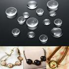 Flatback Transparent Clear Glass Domed Cabochons Cover J3h0 I2l3 Round W8w5