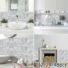 Pvc Tile Stickers Waterproof Home Decor Crystal Decoration Accessories