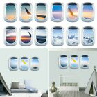 Aircraft Wall Sticker Children's Room Decoration Home Pvc Scenery Supply