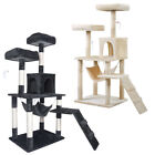 Large Tall Cat Tree Condo Furniture Kitten Activity Tower Pet Play House Centres