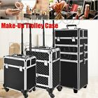 Professional Cosmetic Storage Bag Vanity Case Make-Up Box Hairdresser Trolley UK
