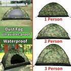 Waterproof Camping Folding Tent Portable Camouflage Famliy Hiking Travel Outdoor