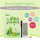 Copybook Preschool Writing Stickers Learning English Concave Practice Book