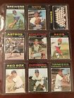 1971 Topps Baseball Complete Set Break #1 - 749, All Available, Low Shipping!