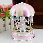 Best Birthday Toys for Girl Music Box Merry-Go-Round LED 6 9 10 Year Old Kid E2W