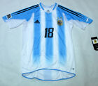 2004-05 Argentina Home S/S No.18 MESSI Player Issue U-20 WorldCup Holland
