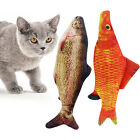 Plush Electric Floppy Fish Cat Toy Charger Pets Bite Dancing Catnip Toys