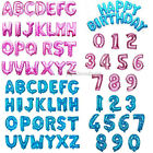 """16"""" A-Z Letter Foil Balloons  40"""" Numbers Birthday Wedding Banner Party Decor"""