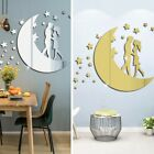 Wall Stickers Diy Decals Decoration Home Moon Removable Room Acrylic Art