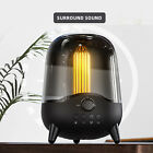 LED Bluetooth Speaker Rechargeable Support TF Card for Kids Boy Home Shower