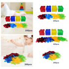 Bingo Chips Math Counting Sorting Grouping Toys Set Red Blue Yellow Green