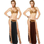 Princess Leia Cosplay Carnival Costumes Adult Sexy Halloween for Women Foreplay