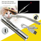USB Rechargeable 3 in 1 Red Laser Pointer Pen Cat Kitten Toy Flashlight