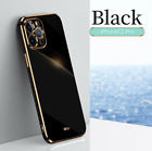 Shockproof Plating Silicone Phone Case For Huawei P40 P30 Pro Mate 30 40 Cover
