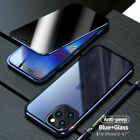 360 Protective Magnetic Anti Spy Privacy Case For iPhone 11 12 PRO MAX XS XR 87