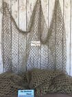 Decorative Nautical Fishing Net ~ 5 ft x 10 ft ~ Fish Netting Luau Decor