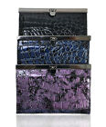 Faux Alligator Skin PURSE in 3 Colors (PUR1109)