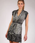 NEW Jarlo animal print Helena dress stud belt all sizes