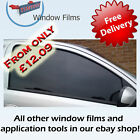 SMOKE RANGE CAR WINDOW TINTING TINT FILM KIT ALL SHADES