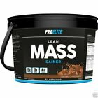 Pro Elite Lean Mass Muscle Weight Gain Protein Shake 4Kg High Calorie All In One