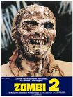 Zombi 2 Vintage Movie Poster Giclee' CANVAS PRINT 24x36 inch Theatrical Release