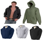 Mens Hooded Sweatshirt Hoodies Full Zip Size XS -  3XL
