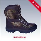 NEW KINGSHOW MENS SNOW WINTER HUNTING BOOTS WATERPROOF CAMO