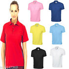 Ladies Polo T Shirt Jersey Cotton Top 14 -26 Plus Size