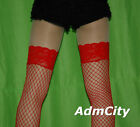 Admcity Stay Up Lycra Industrial Fishnet Thigh High