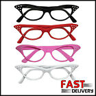 50's Cat Eye Dame Edna Retro Fancy Dress Glasses