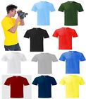 Mens 100% Cotton T Shirt Size XS - 4XL Premium Quality Adults NEW 10 Colours